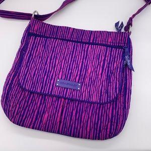 "Vera Bradley ""impressionista"" purple/magenta purse"